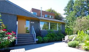 New Westminster Heritage Preservation Society - Dr. Allan and Phyllis Kergin House (1954)