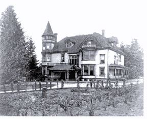 New Westminster Heritage Preservation Society - Henry L. and Ella Edmonds House (1910)