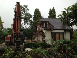 New Westminster Heritage Preservation Society - Riddell House Demo