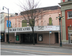 New Westminster Heritage Preservation Society - Burr Theatre
