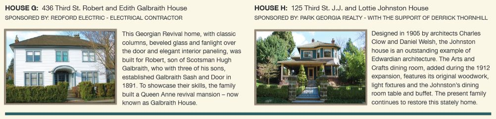 New Westminster Heritage Preservation Society - 2017 Homes Tour