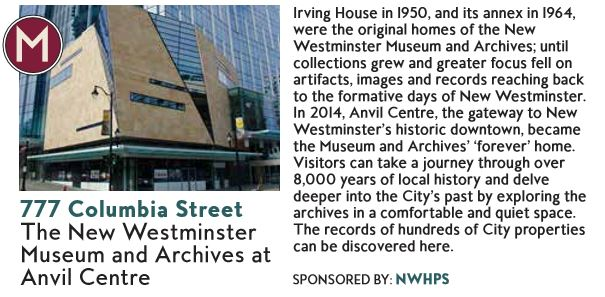 New Westminster Heritage Preservation Society - 2016 Homes Tour